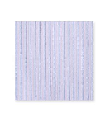 Blue stripes on Purple Poplin by Alumo Product Image