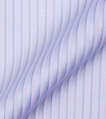 shirts cottons blue stripes on purple poplin