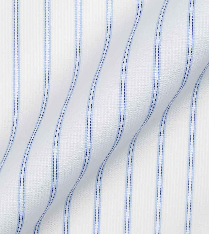 Blue Stripes Poplin by Alumo Product Image