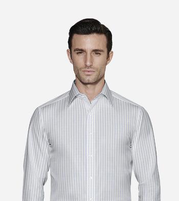 shirts cottons blue stripes poplin 4 2462