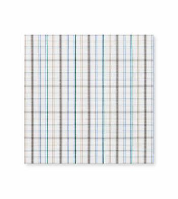 Blue multicolor checks Poplin Multicolor by Alumo Product Image