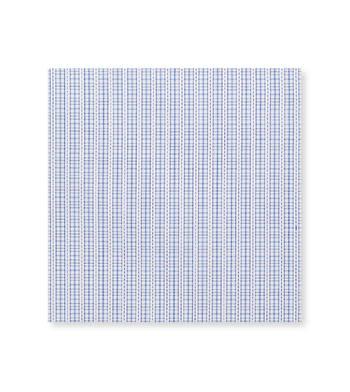 Blue checks Poplin by Alumo Product Image