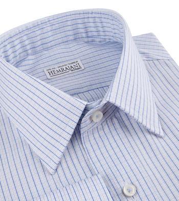 shirts cottons blue checks poplin 4 2715