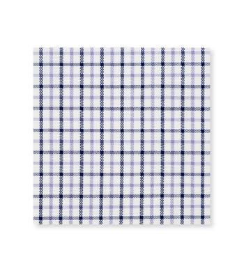 Navy Purple check Poplin by Alumo Product Image