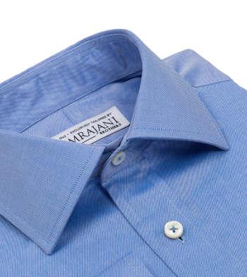 shirts cotton deep sky solid light blue solids