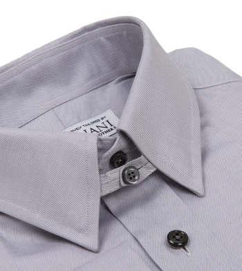 shirts cotton dover poplin grey solids