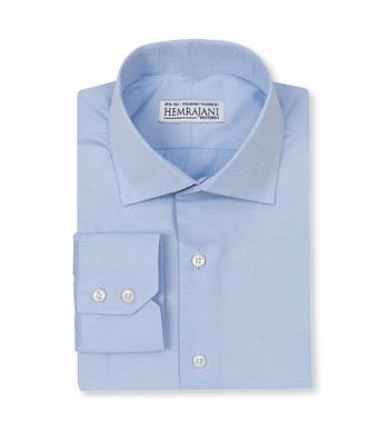 shirts cotton soft blue crosshatch light blue white semi solids