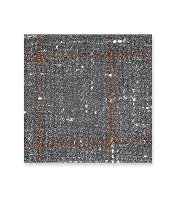 Slate Gray with brown checks Grey Brown by Loro Piana Product Image