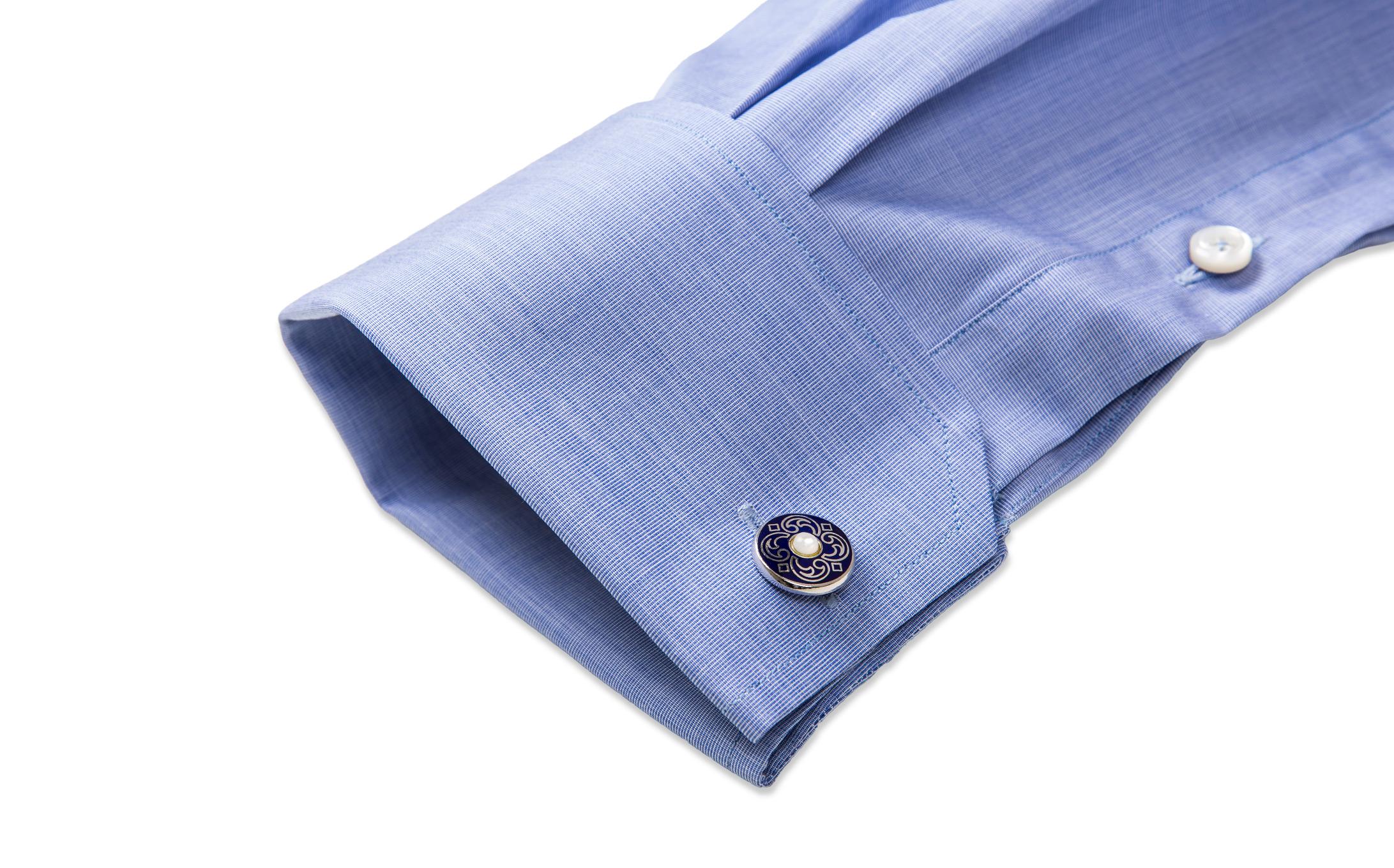 French Cuff Angle Cut Corners shirt