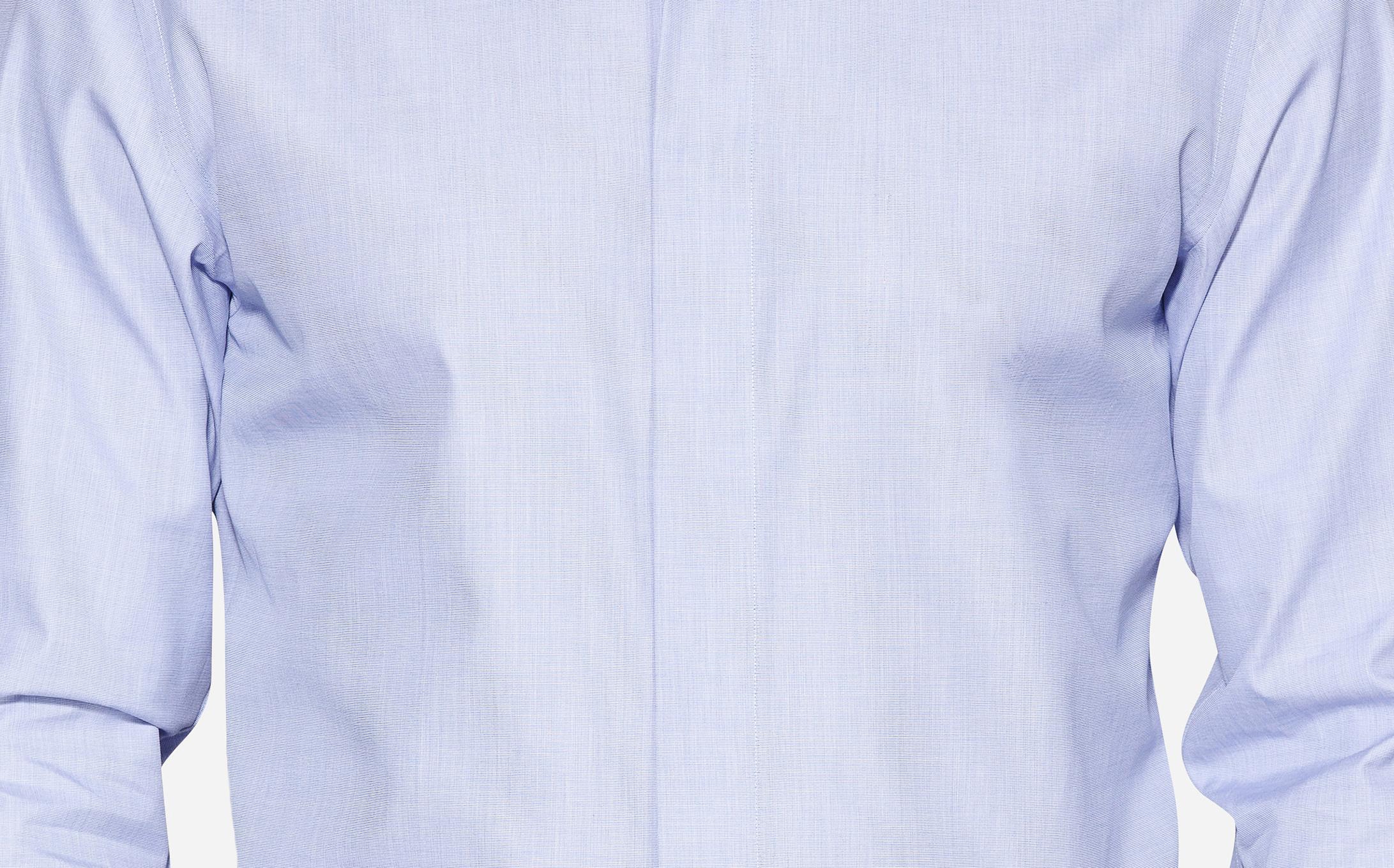 Plain Fly Front Hidden Buttons  shirt