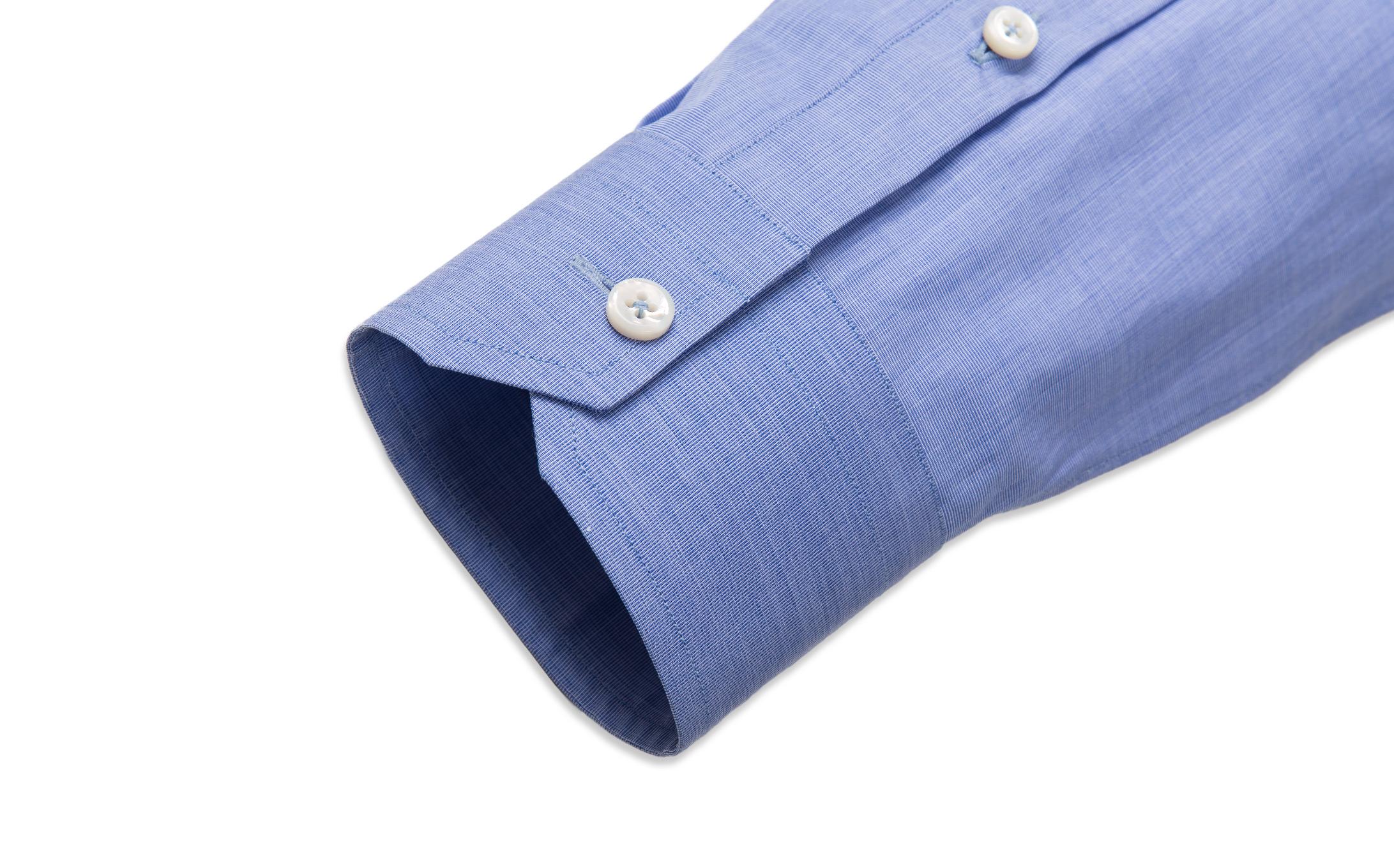 Single Button Angle Cut Corners shirt