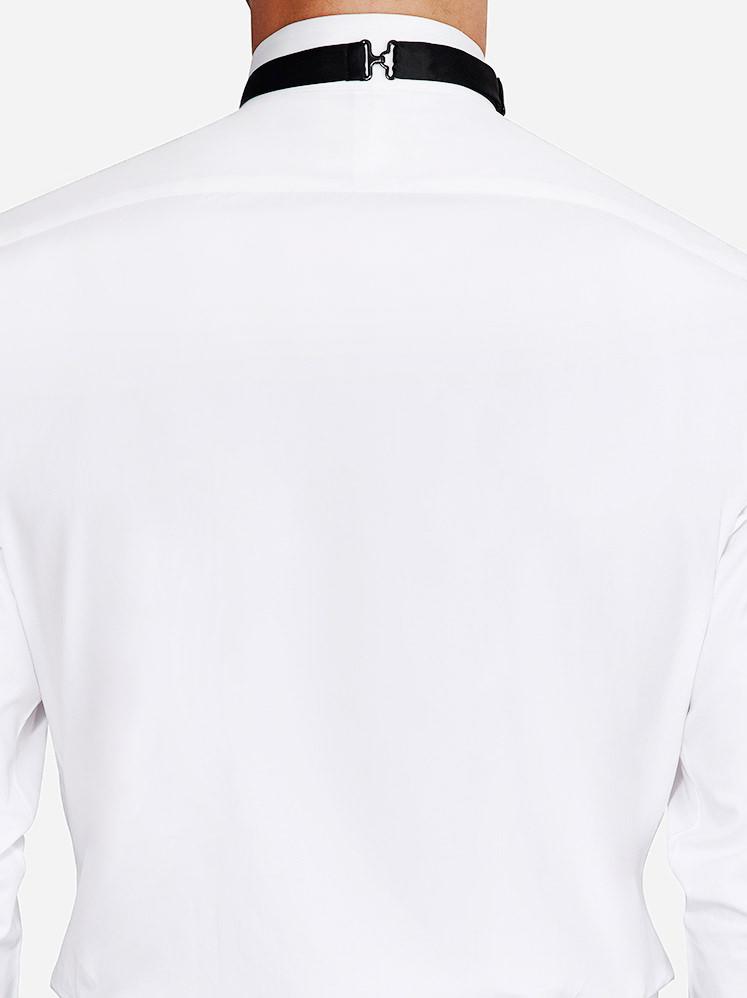 Plain Back tuxedo shirt