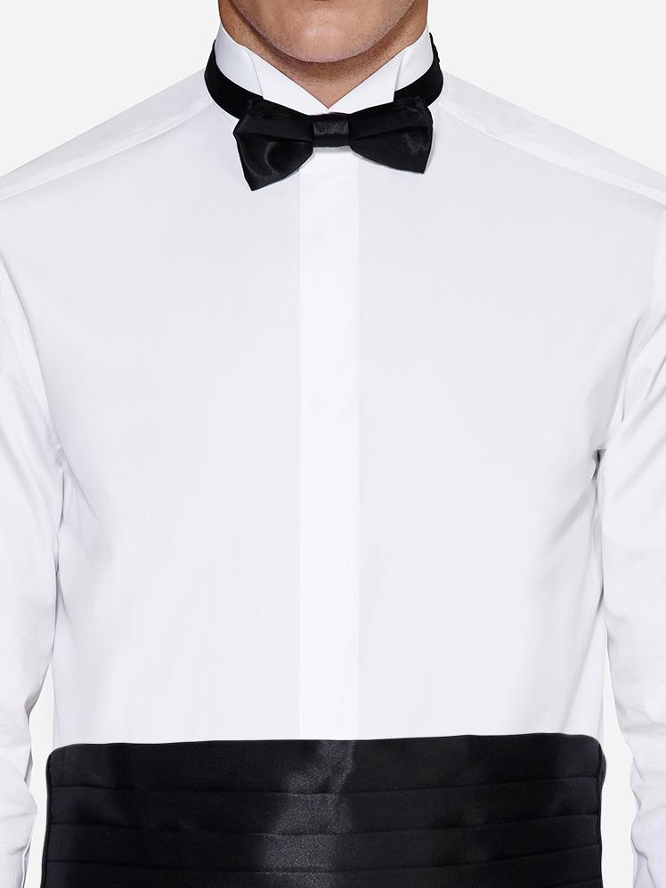 None tuxedo shirt