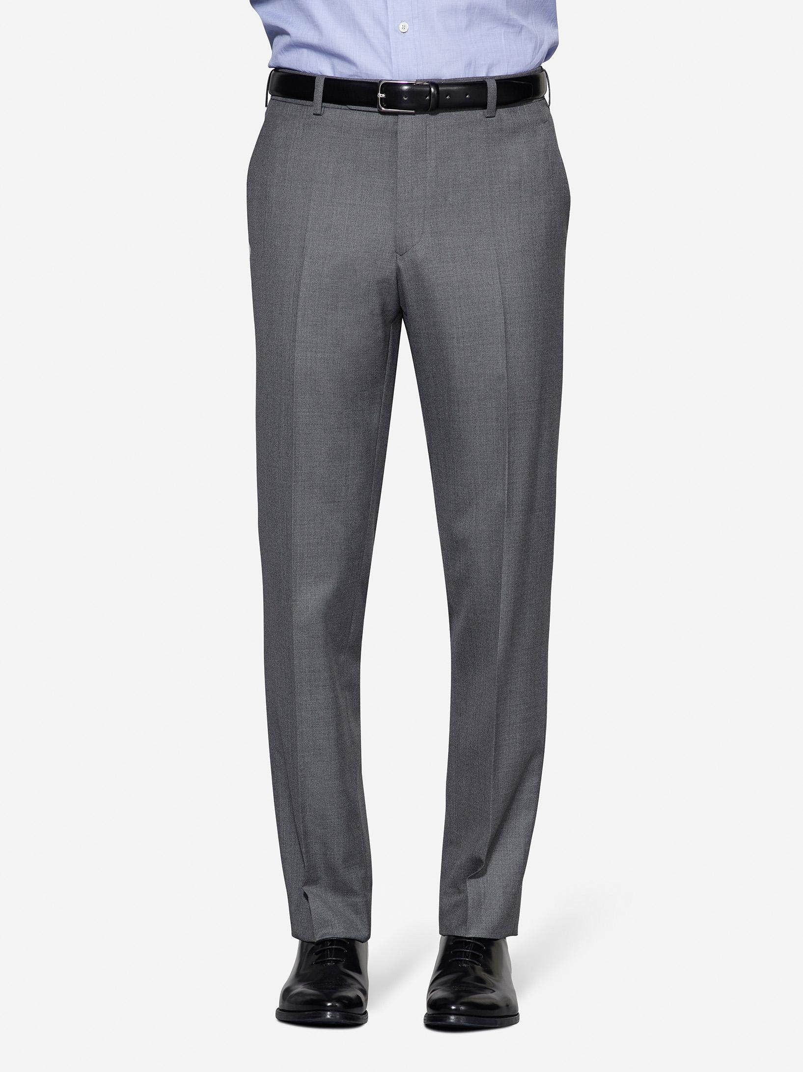 Plaint Front - No Pleats tuxedo trouser