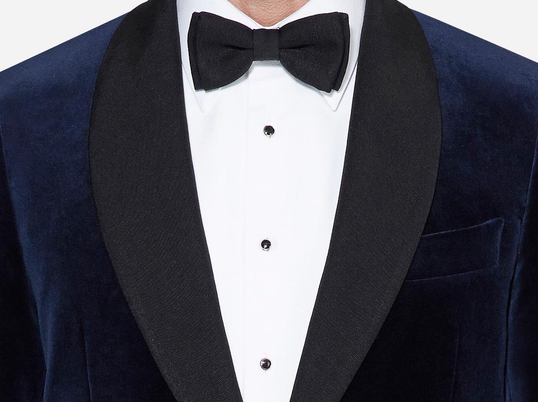 Grosgrain tuxedo jacket