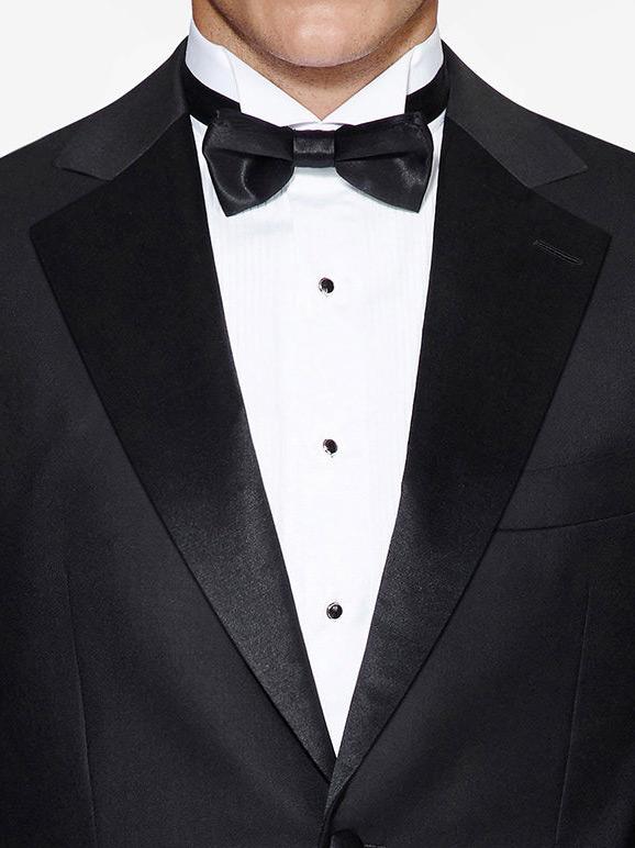 Notch tuxedo jacket