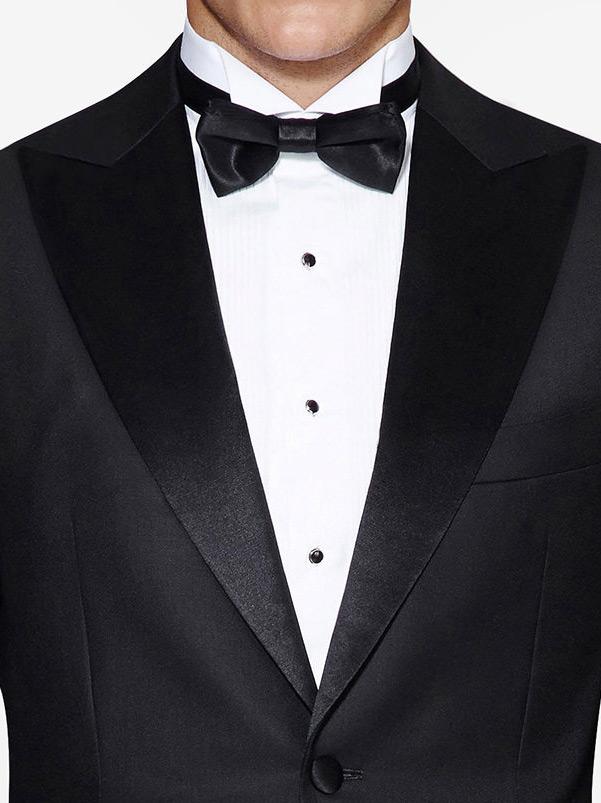 Peak tuxedo jacket
