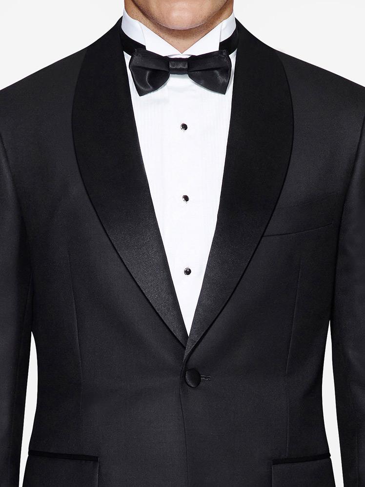 Shawl tuxedo jacket