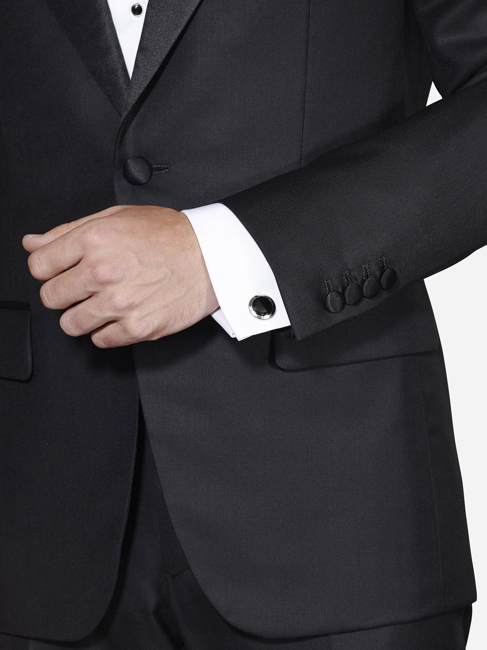 Single Button tuxedo jacket