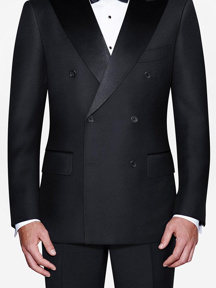Double Breasted 6 on 2 tuxedo jacket